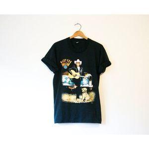 Vintage Ricky Van Shelton Tour T Shirt